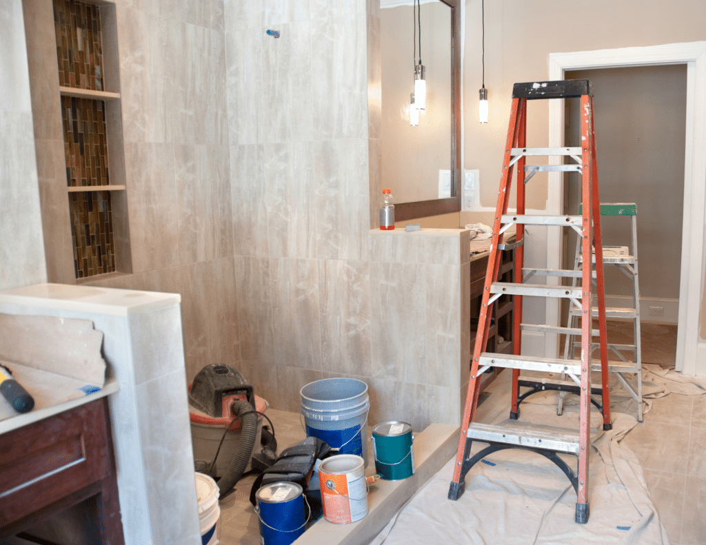 Remodeling a bathroom is a high value home improvement