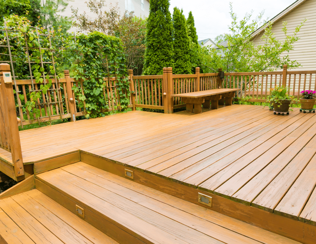 Add deck to increase home value